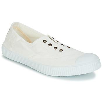 Schuhe Sneaker Low Victoria 6623 Weiss