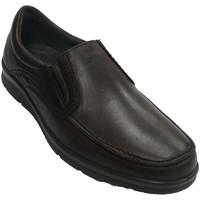 Schuhe Herren Slipper Pitillos Schuh Mann Schaufel glatt  braun Braun