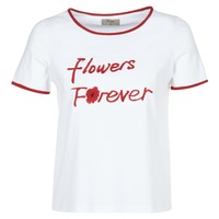 Kleidung Damen T-Shirts Betty London INNATIMBI Weiss / Rot