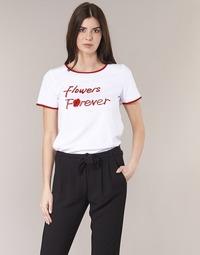Kleidung Damen T-Shirts Betty London INNATIMBI Weiss / Rot