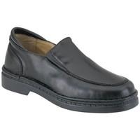 Schuhe Jungen Slipper Calzamedi Mokassin  besonderen zarten Fuß breit BLACK