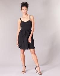 Kleidung Damen Kurze Kleider Naf Naf LENY R1 Schwarz