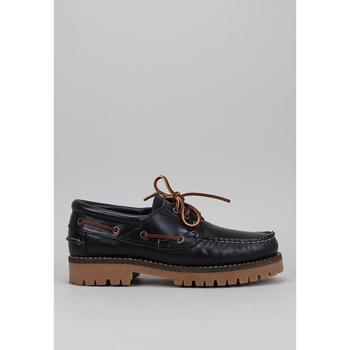 Schuhe Herren Bootsschuhe CallagHan 21910 Blau