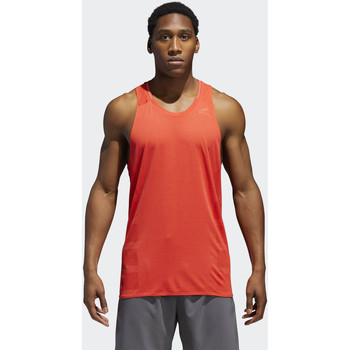 Kleidung Herren Tops adidas Performance Supernova Singlet Orange / Rot