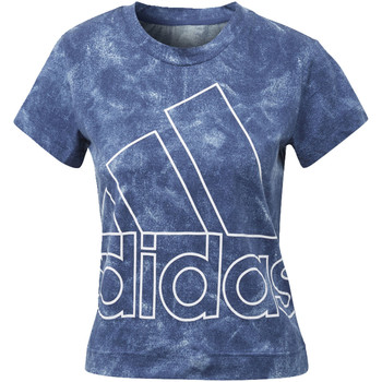 Kleidung Damen T-Shirts adidas Performance ID Logo T-Shirt blue
