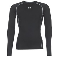 Kleidung Herren Langarmshirts Under Armour LS COMPRESSION Schwarz
