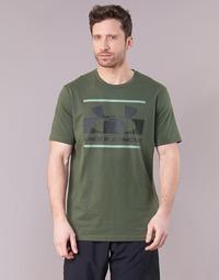 Kleidung Herren T-Shirts Under Armour BLOCKED SPORTSTYLE LOGO Kaki