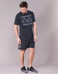 Kleidung Herren Shorts / Bermudas Under Armour WOVEN GRAPHIC WORDMARK SHORT Schwarz