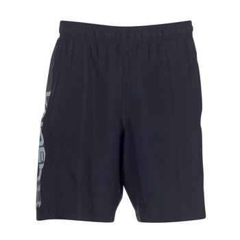 Kleidung Herren Shorts / Bermudas Under Armour WOVEN GRAPHIC WORDMARK SHORT Schwarz