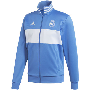 Kleidung Herren Trainingsjacken adidas Performance Real Madrid 3-Streifen Trainingsjacke Blau