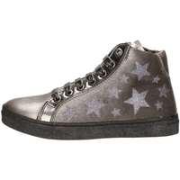 Schuhe Mädchen Sneaker High Asso 57644 Silber