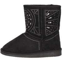 Schuhe Mädchen Ankle Boots Asso 6000 Schwarz