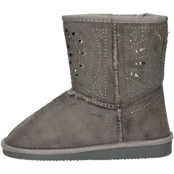 Schuhe Mädchen Ankle Boots Asso 6000 GRAY