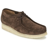 Schuhe Herren Derby-Schuhe Clarks WALLABEE Braun