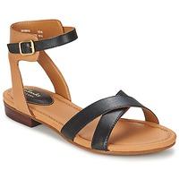 Schuhe Damen Sandalen / Sandaletten Clarks VIVECA ZEAL Schwarz