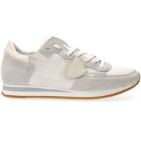 Schuhe Herren Sneaker Low Philippe Model Paris TRLU W018 TROPEZ SNEAKERS Herren WHITE WHITE