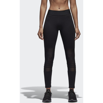 Kleidung Damen Leggings adidas Performance ID Mesh Tight Schwarz