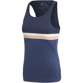 Kleidung Damen Tops adidas Performance Club Tanktop blue