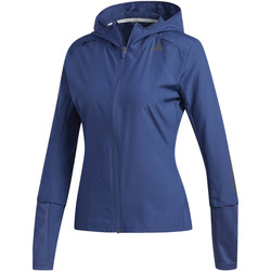 Kleidung Damen Trainingsjacken adidas Performance Response Hooded Windjacke blue