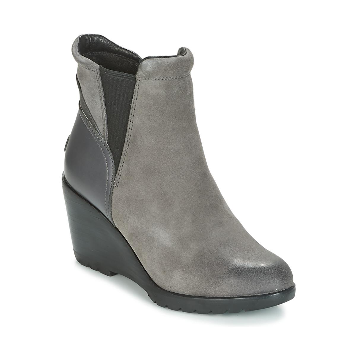 36ef2d94d Sorel After Hours Chelsea Grau - Kostenloser Versand bei Spartoode ! -  Schuhe Low Boots Damen