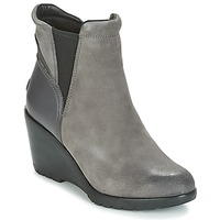 Schuhe Damen Low Boots Sorel After Hours Chelsea Grau