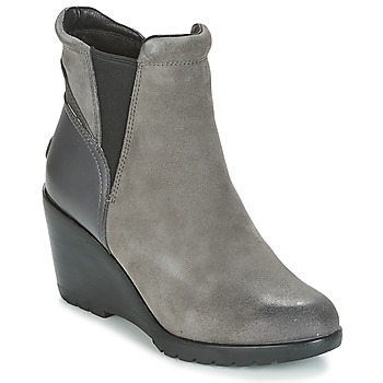 Schuhe Damen Low Boots Sorel After Hours Chelsea Grau