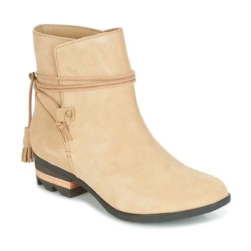Sorel Farah Short Beige Damen  Schuhe Boots Damen Beige 135,20 6c36c9