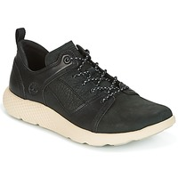Schuhe Herren Sneaker Low Timberland FLYROAM LEATHER OXFO Schwarz
