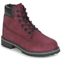 Schuhe Kinder Boots Timberland 6 IN PREMIUM WP BOOT Rose