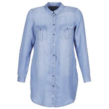 Kleidung Damen Kurze Kleider Vero Moda VMSILLA Blau