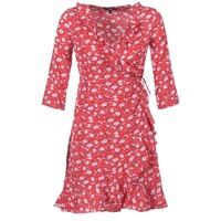 Kleidung Damen Kurze Kleider Vero Moda VMMOLLY Rot
