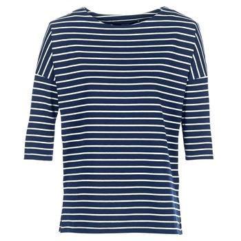 Kleidung Damen Sweatshirts Vero Moda VMULA Marine / Weiss