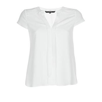 Kleidung Damen Tops / Blusen Vero Moda VMTONI Weiss