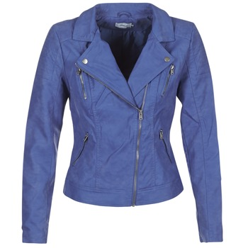Kleidung Damen Lederjacken / Kunstlederjacken Only STEADY Blau