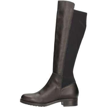 Schuhe Damen Klassische Stiefel Donna Più DONNAPIU' 09318 Stiefel Frau Schwarz Schwarz