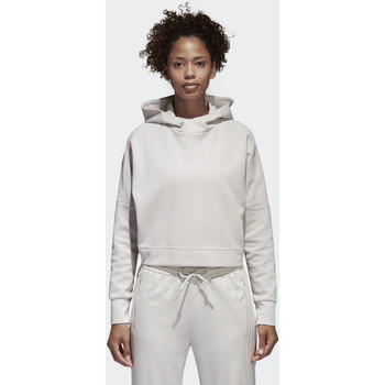 Kleidung Damen Trainingsjacken adidas Performance ID Glory Hoodie white