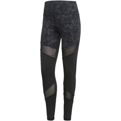 Kleidung Damen Leggings adidas Performance Ultimate High-Rise Printed Tight Schwarz / Mehrfarbig