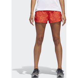 Kleidung Damen Shorts / Bermudas adidas Performance Supernova Glide Print Shorts Orange