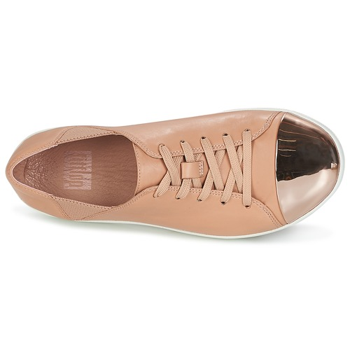 FitFlop F-SPORTY MIRROR-TOE SNEAKERS Beige  Schuhe Sneaker Low Damen 111,20