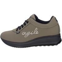 Schuhe Damen Sneaker Low Agile By Ruco Line Agile By Rucoline  1315(17_) Niedrige Sneakers Damen Dunkel Grün Dunkel Grün