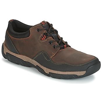 Schuhe Herren Sneaker Low Clarks WALBECK EDGE Braun