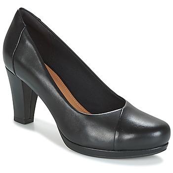 Schuhe Damen Pumps Clarks CHORUS CAROL Schwarz