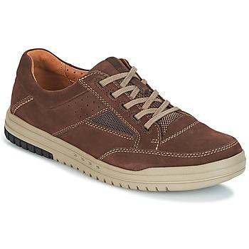 Schuhe Herren Sneaker Low Clarks UNRHOMBUS GO Dark / Braun / Nub