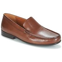 Schuhe Herren Slipper Clarks CLAUDE PLAIN Braun