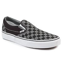 Schuhe Slip on Vans CLASSIC SLIP-ON Schwarz / Grau