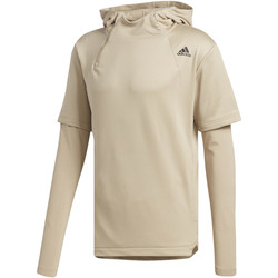 Kleidung Herren Trainingsjacken adidas Performance Electric Shooter Hoodie Beige