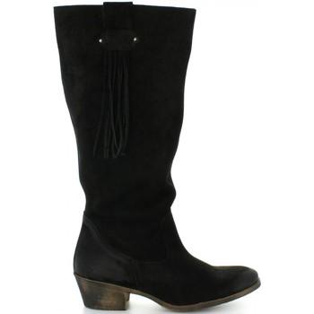 Schuhe Damen Klassische Stiefel MTNG 94022 Negro