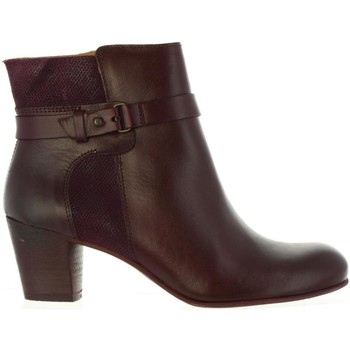 Schuhe Damen Klassische Stiefel Kickers 512381-50 SEEBOOTS Rojo