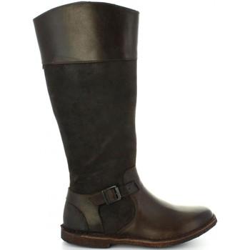 Schuhe Damen Klassische Stiefel Kickers 577421-50 CHRISTY Marrón