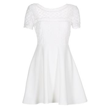 Kleidung Damen Kurze Kleider Betty London INLOVE Weiss